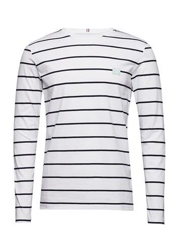 Les Deux Betrois Ls T-Shirt Valkoinen