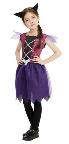 Children Costume - Bat Girl - Size 128