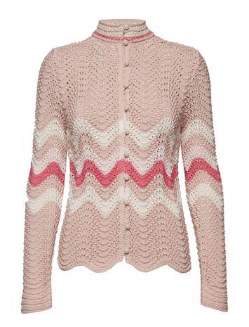 ODD MOLLY Soul Stripes Sweater Vaaleanpunainen