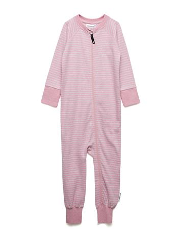 Geggamoja Two Way Zip -Pyjamas Classic Vaaleanpunainen
