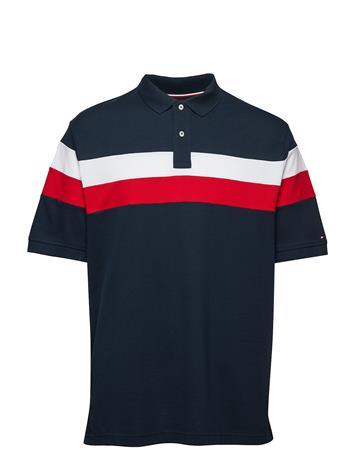 Tommy Hilfiger Big & Tall Bt-Chest Stripe Polo-B Sininen