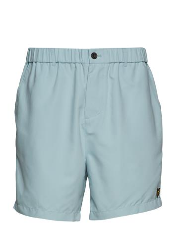 Lyle & Scott Button Fly Short Sininen