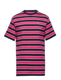 Tommy Jeans Tjm Bold Stripe Tee Vaaleanpunainen