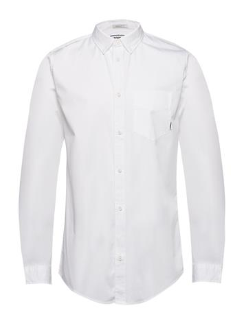Tommy Jeans Tjm Solid Twill Shirt Valkoinen