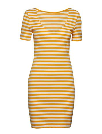 Tommy Jeans Tjw Tommy Classics Bodycon Dress Keltainen