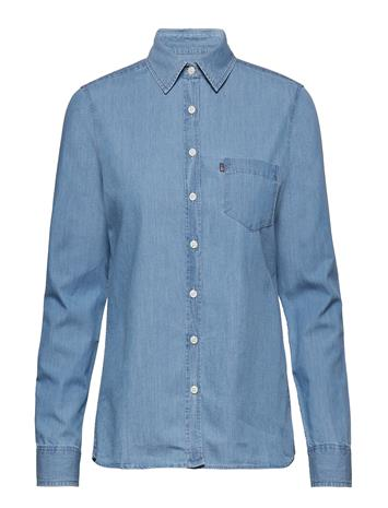 Lexington Clothing Emily Denim Shirt Sininen