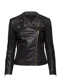 DEPECHE Jacket W/Studs Musta