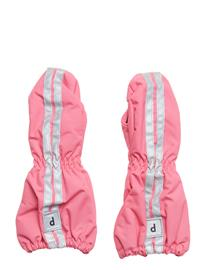 Polarn O. Pyret Shell Gloves Vaaleanpunainen