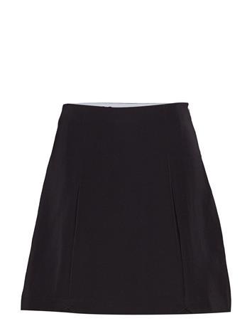 Calvin Klein Jeans Pleated Mini Skirt Musta