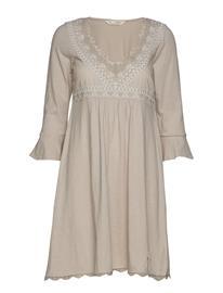 ODD MOLLY Lace Vibration Dress Harmaa