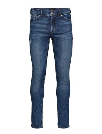 JUNK de LUXE Sustainable Wash Mid Ind Jeans Sininen