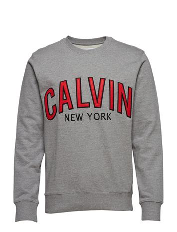 Calvin Klein Jeans Calvin Graphic Crew Neck Harmaa
