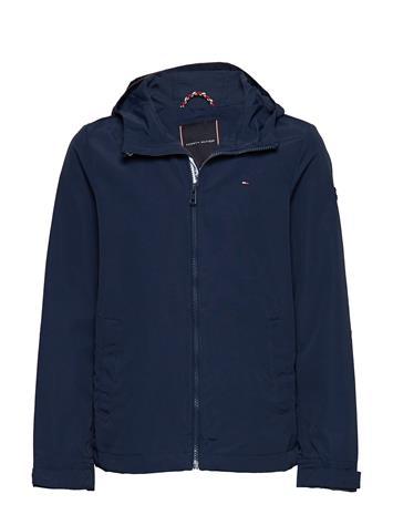 Tommy Hilfiger Packable Hooded Jacket Sininen