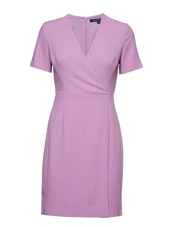 French Connection Whisper Ruth Short Sleeve Wrap Dress Liila