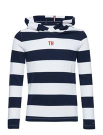 Tommy Hilfiger Striped Tee L/S Sininen