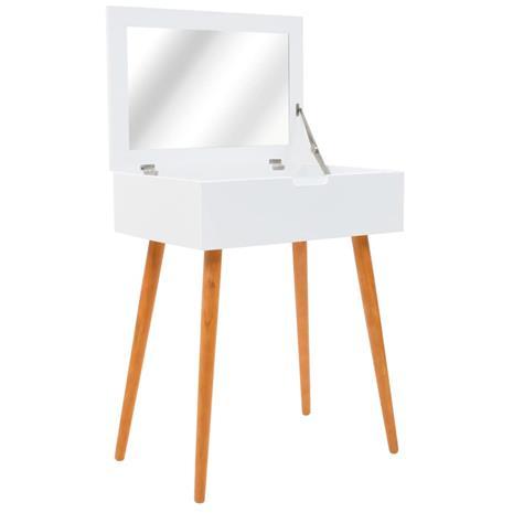 vidaXL Peilipöytä MDF 60x40x75 cm