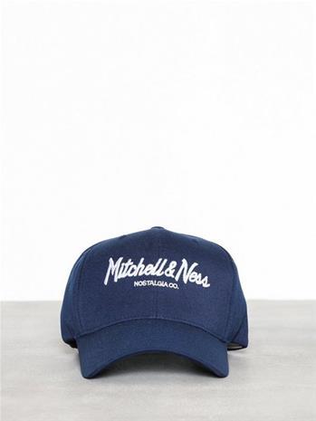 Mitchell & Ness Pinscript 110 Snapback Lippalakit Navy