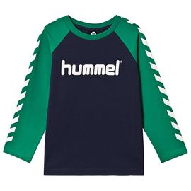 Boys T-Shirt L/S Pepper Green122 cm (6-7 v)