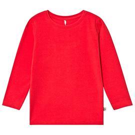 Pitkähihainen T-paita Punainen122/128 cm