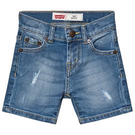 Mid Wash Distressed 510 Denim Shorts10 years