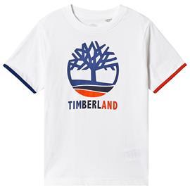 White Timberland Tree Logo Tee16 years