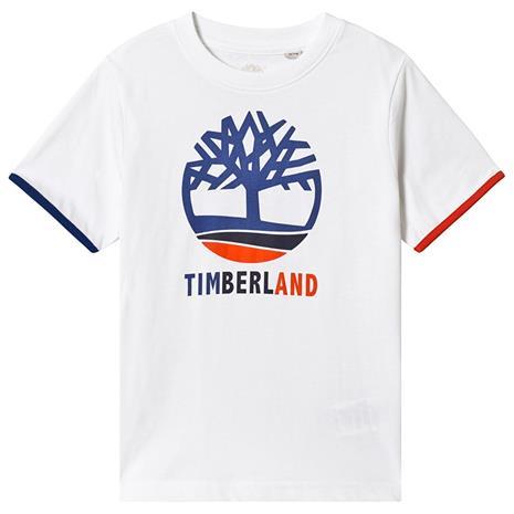 White Timberland Tree Logo Tee6 years