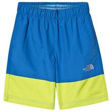 Blue & Lime Colourblock Water Reactive UPF 50 Swim ShortsS (7-8 years)