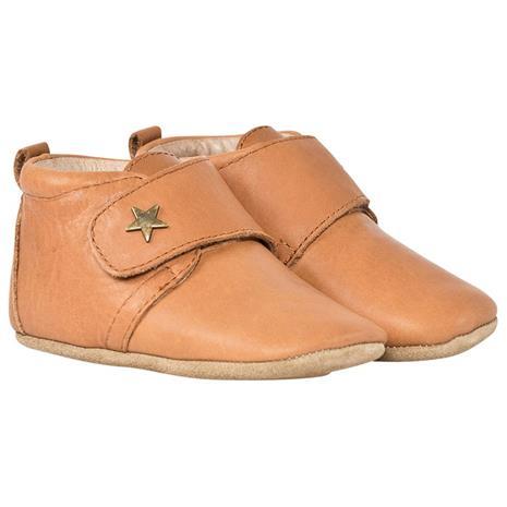Velcro Shoe Star Cognac20 EU