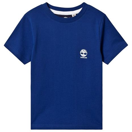 Blue Timberland Logo Back Detail Tee12 years