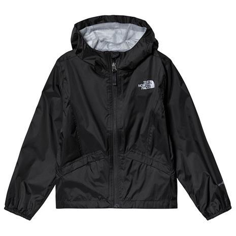 Black Girl´s Zipline Waterproof JacketL (14-16 years)