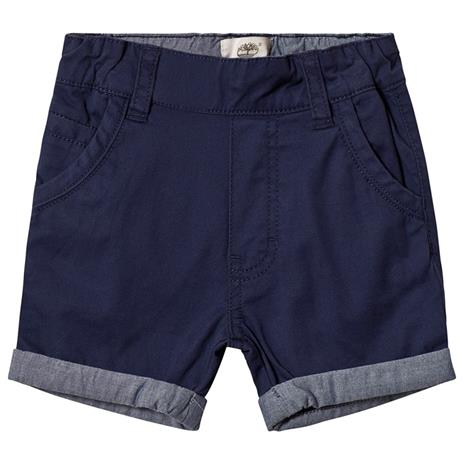 Navy Turn Up Chino Shorts6 months
