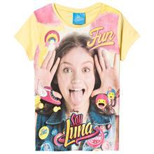 Soy Luna T-paita Keltainen8 v