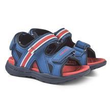 Gleeful sandaler i blä¥/rä¸d27 (UK 9)