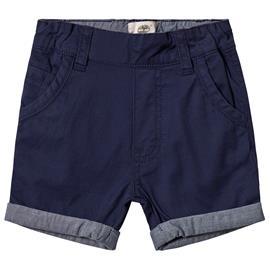 Navy Turn Up Chino Shorts9 months