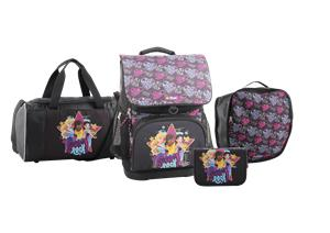 LEGO Schoolbag - Optimo - Friends - Girls Rock (4pcs) (20113-1914)