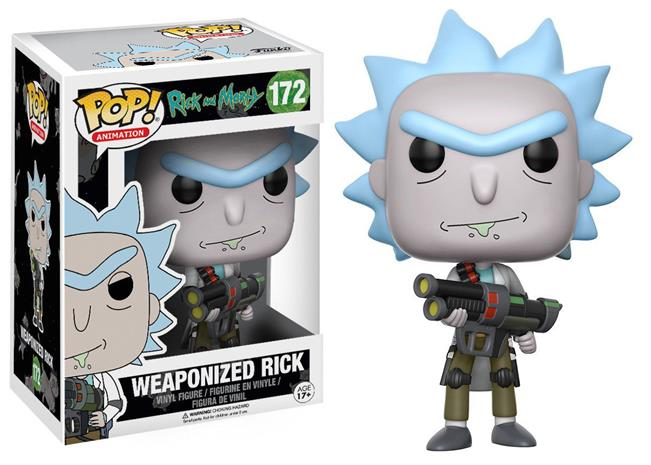Funko POP! - Rick and Morty - Weaponized Rick Chase (12439)