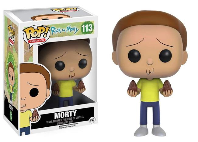 Funko POP! - Rick and Morty - Morty (9016)