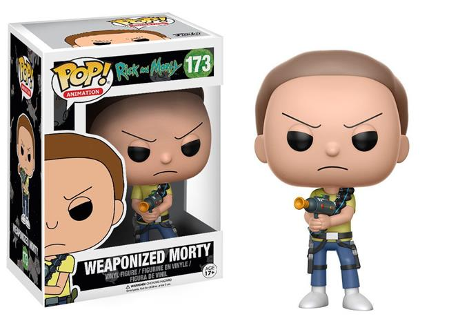Funko POP! - Rick and Morty - Weaponized Morty (12440)
