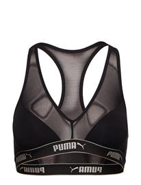 PUMA Puma Mesh Racer Back Top 1p Hang Musta