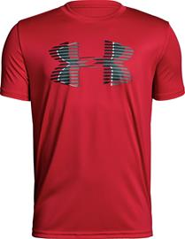 Under Armour Tech Big Logo Solid Tee Treenipaita, Red XL