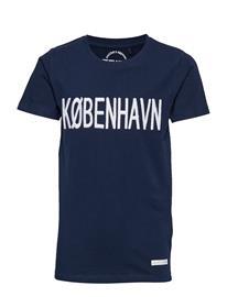 The New Kobenhavn S_s Tee Sininen