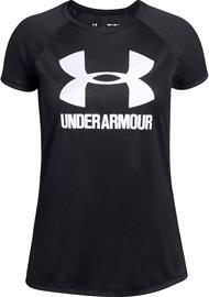 Under Armour Big Logo Tee Solid SS Treenipaita, Black XS