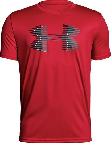 Under Armour Tech Big Logo Solid Tee Treenipaita, Red M