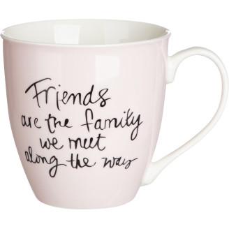 Muki 5,9 dl Friends pinkki
