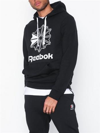 Reebok Classics C Big Logo Hoodie Puserot Black