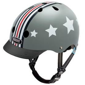 NUTCASE LITTLE NUTTY SILVER FLY STREET HELMET XS