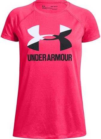 Under Armour Big Logo Tee Solid SS Treenipaita, Assorted XS