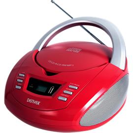 Denver TCU-211 CD Boombox, stereot