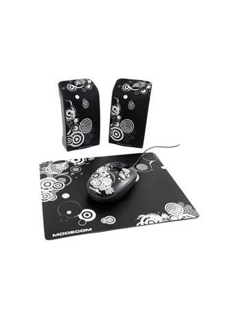 Modecom Starter Art 3-in1, kaiuttimet & hiiri & hiirimatto