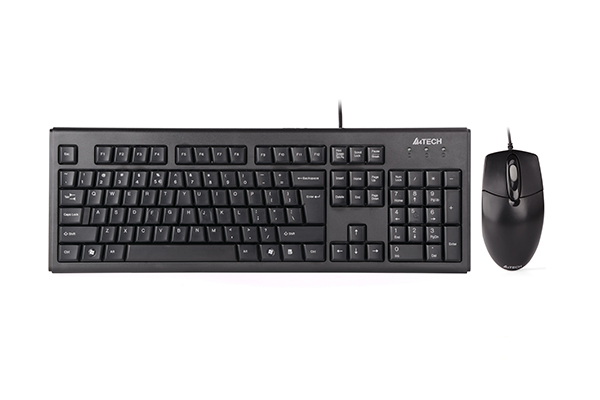 A4Tech Natural A Desktop (KRS-8372), näppäimistö ja hiiri